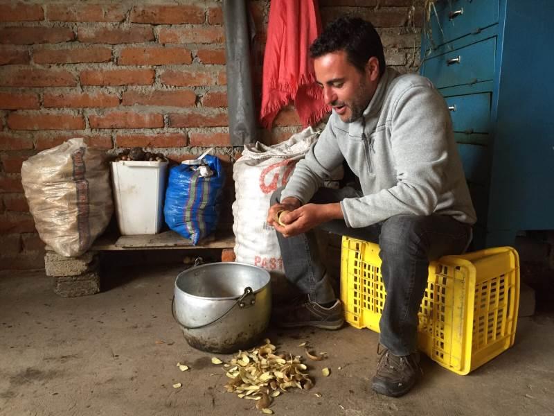agricultura comunitario ecuador