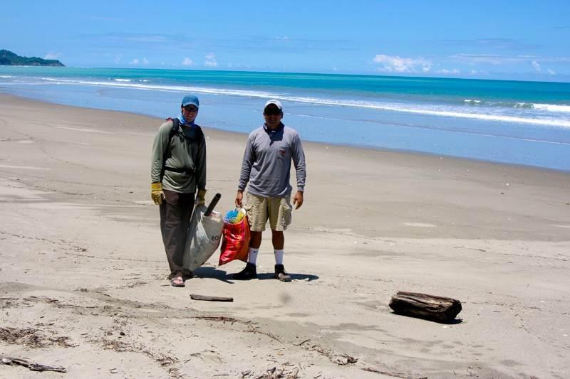 limpieza playas ecuador