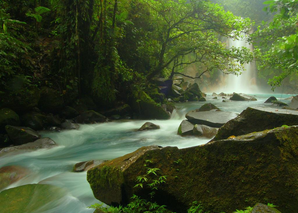 Ríos Celeste, en Costa Rica