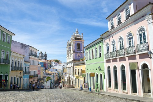 Salvador de Bahía en Brasil
