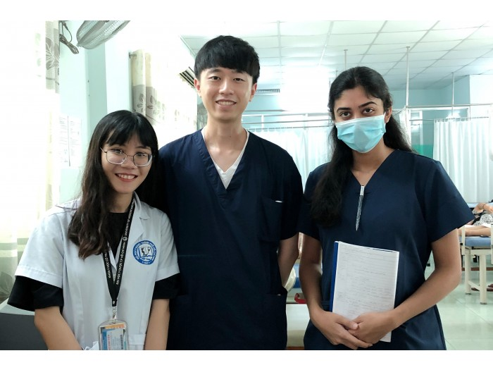 médicos voluntariado Tailandia