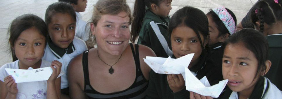 Voluntariado construccion de casas mexico